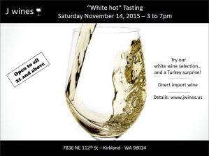 White hot tasting