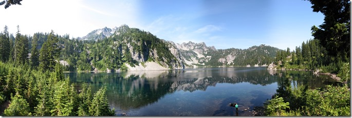 Snow Lake Pano 2.1