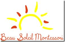 beau soleil montessori logo